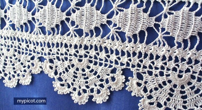 Home Work Crocheted Lace [FREE Crochet Pattern] | Crochet Designs ...