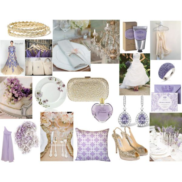Lavender and Gold\