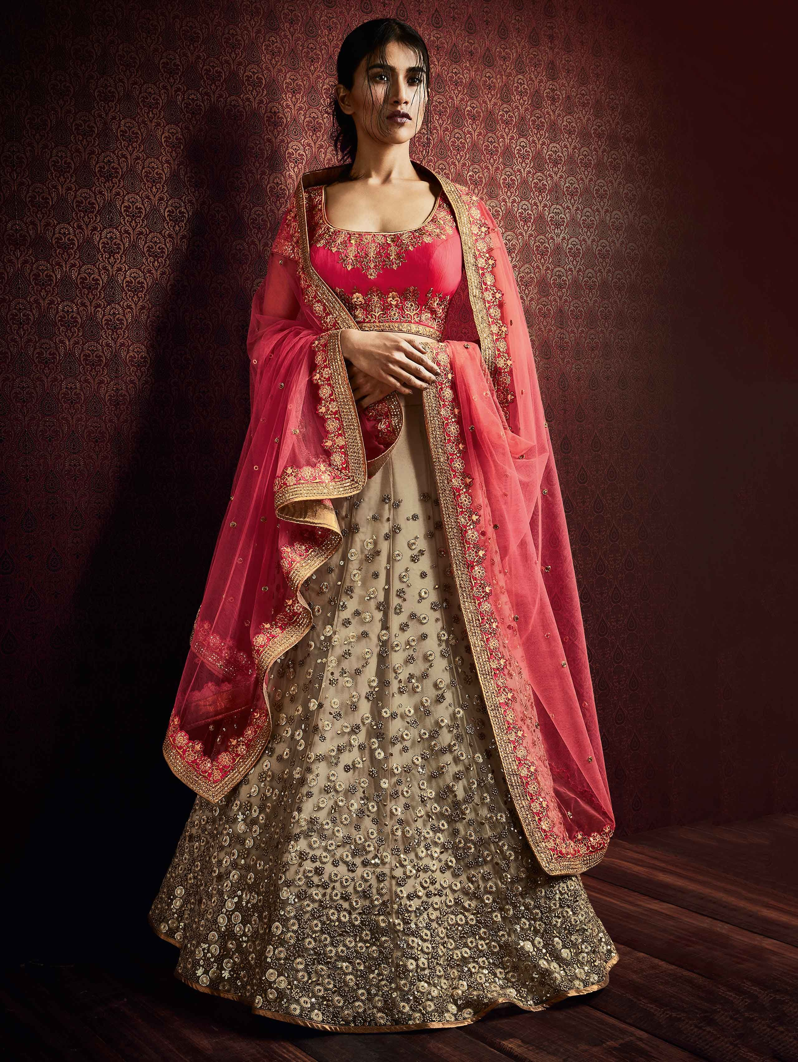 c241829cb Buy Sea Green Silk Lehenga Choli with Embroidery Work Online at Best Price  for Women - CCAA2287 - Saree.com