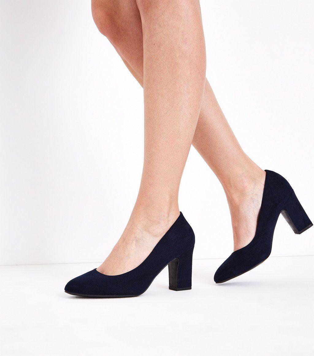 21f779f63 Wide Fit Black Comfort Flex Court Shoes