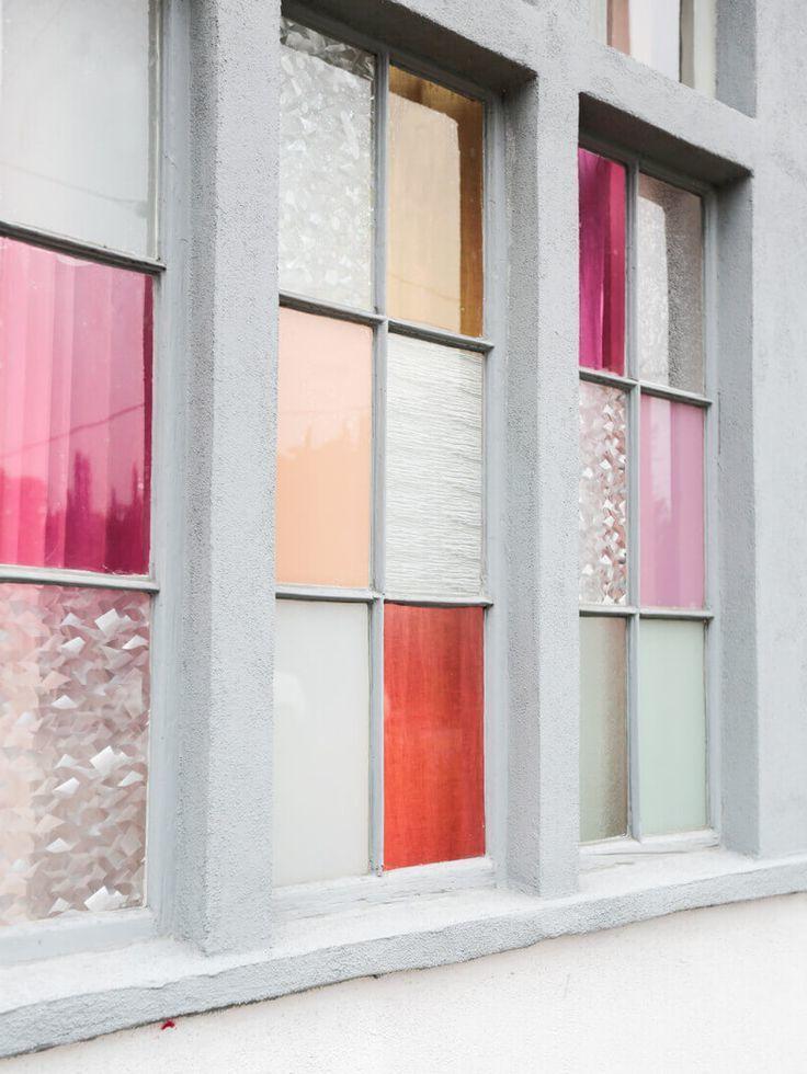 Schön geschützt vor Sonne 30 Ideen für Sonnenschutzfolien! Fur - küche farben ideen