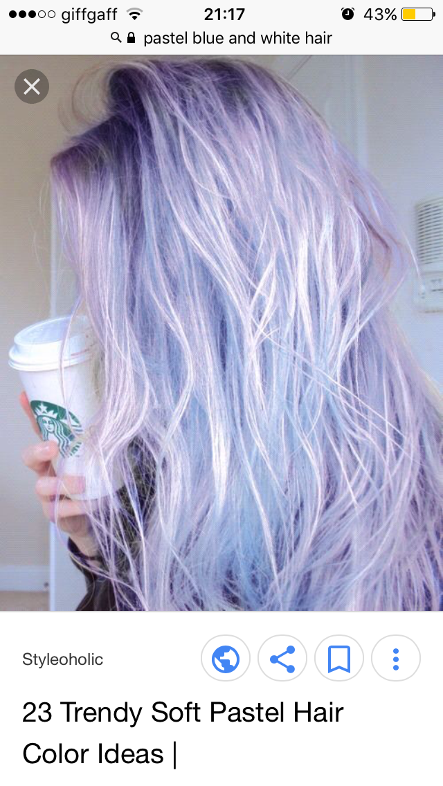 Lilac And White Hair Color Pastel Hair Color Purple Hair Styles