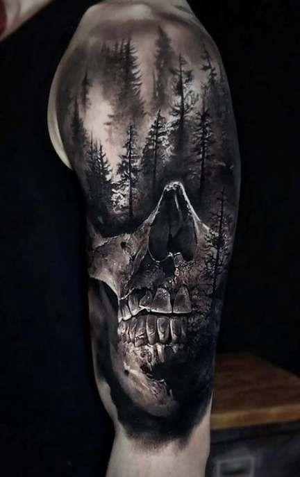 17+ trendy tattoo sleeve skull ink