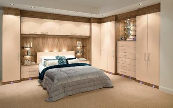 Charmant Modern Bedroom Furniture And Space Saving Interior Design Ideas, Fitted  Furniture For Storage