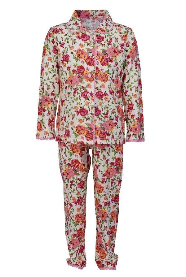3f464bd6bd0 Claesen's pyjama voor meisjes Roses, rose   Kinderpyjama's ...