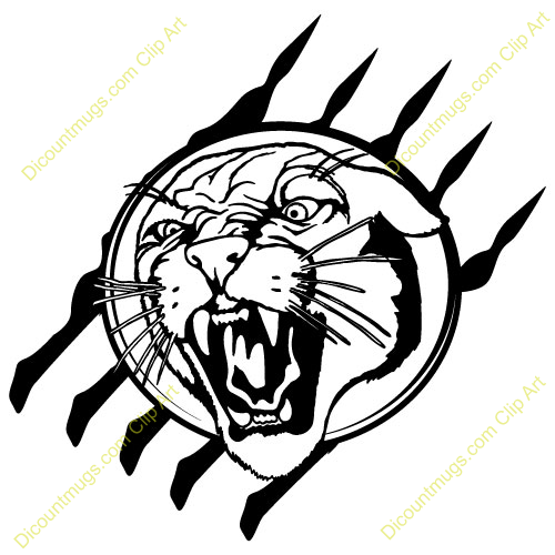 cougar logo clip art clipart 14606 cougarheadclaw cougarheadclaw rh pinterest com cougar clip art free cougar clipart black and white