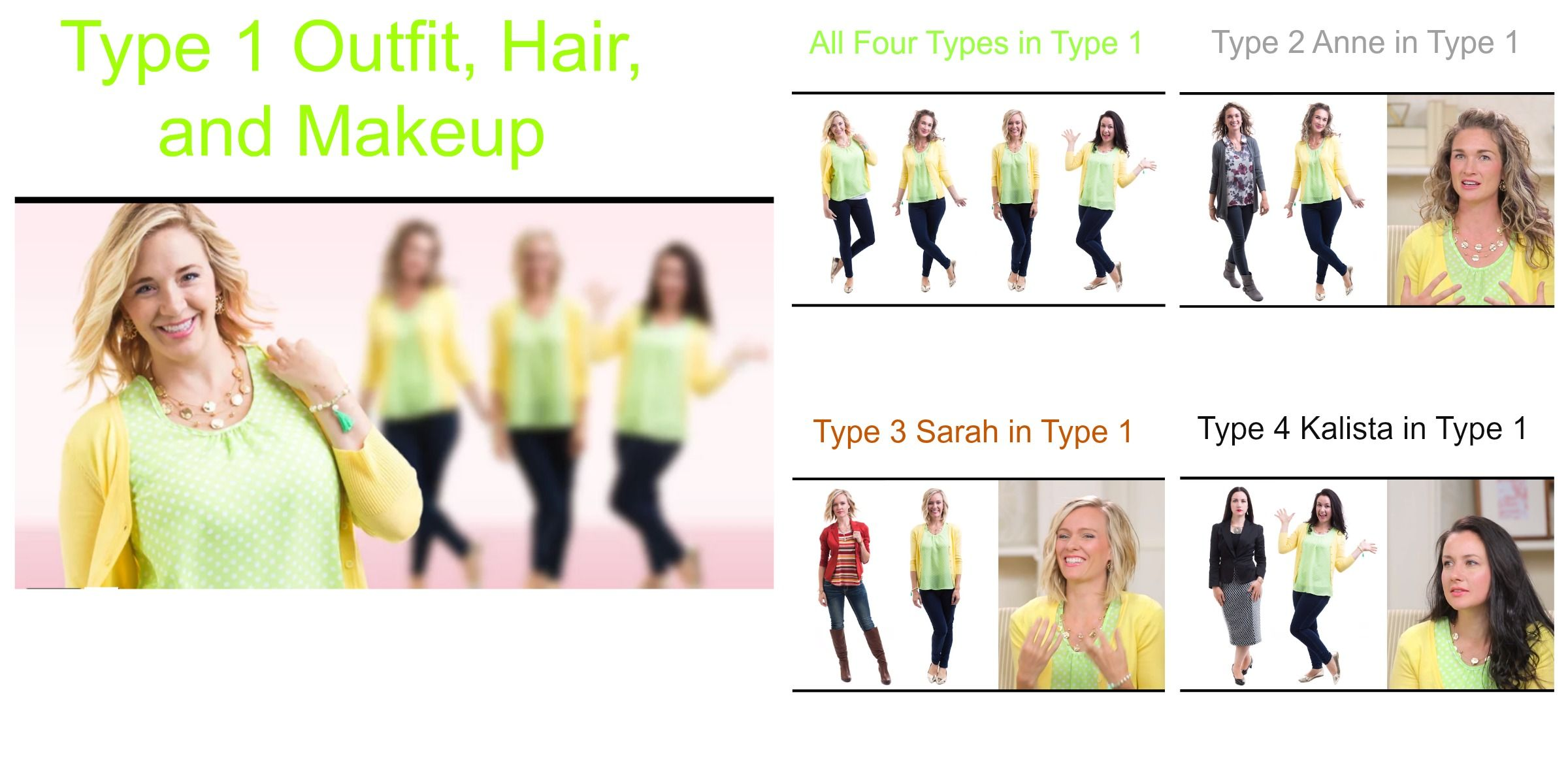 Dressing your truth type 1 how type 1 clothes work on a