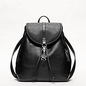 Studio Legacy Leather Backpack in brown - another purse that doesn't hurt the back!!!