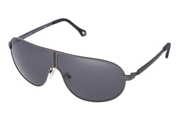 The frame is made from metal , notwithstanding the lenses are made of tough and high-grade polycarbonate.