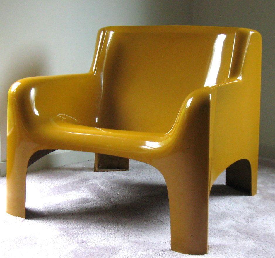 Gaia Lounge Chair Carlo Bartoli Arflex Stendig 1967