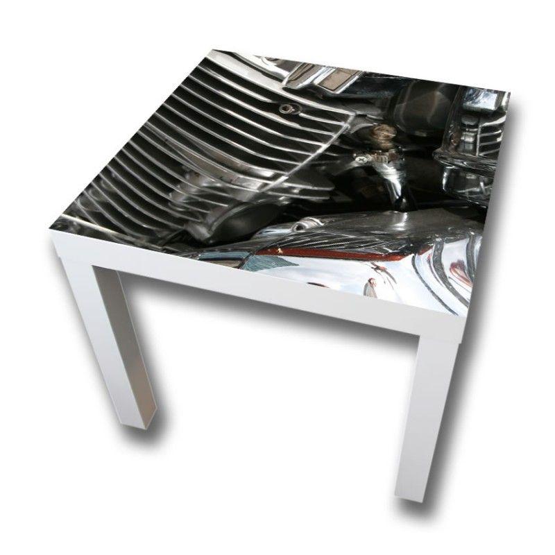 Möbeltattoo Zylinder für IKEA Tisch LACK