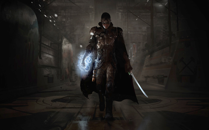 Download Wallpapers The Technomancer Poster New Games Action Rpg Besthqwallpapers Com Gaming Wallpapers 4k Gaming Wallpaper Best Gaming Wallpapers
