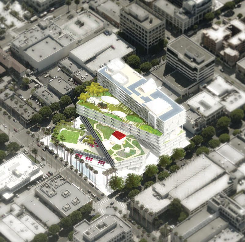 Santa Monica chooses OMA for new mixed-use development project.   Rem Koolhaas (OMA)   Pinterest ...