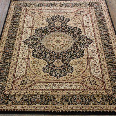 Rug Factory Tabriz 3916 Indoor Area Rug - TC3916BK5B8