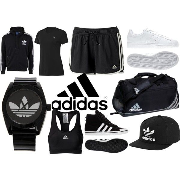 adidas workout outfit