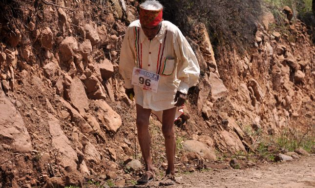 83 years old and running 100km