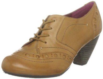 Amazon Com Hush Puppies Fickle Womens Brogue Tan Lace Up Shoe Boots Shoe Boots Shoes