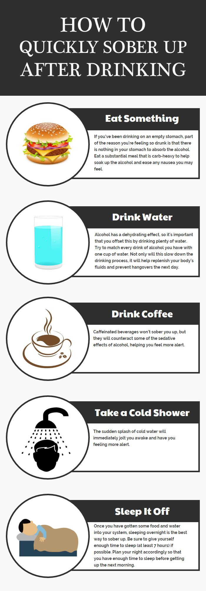 How To Quickly Sober Up After Drinking Sober Holistic Treatment Quick Drinks