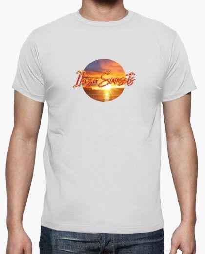 Camiseta con el texto Ibiza Sunsets