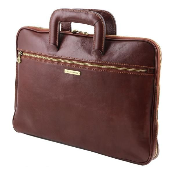 Caserta - Tuscany Leather - Document Leather briefcase - Bags For Business