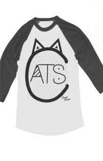 3993e128c4e1c7 Cats Raglan T-Shirt - ConnorFranta T-Shirts - Official Online Store on District  Lines i neeed it