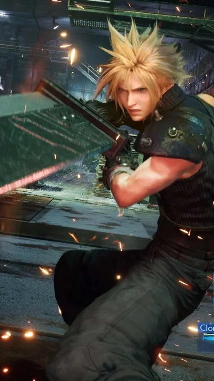 Final Fantasy 7 Remake Wallpaper Hd Phone Backgrounds Ps4 Game Art Poster Logo On Iphone Android Em 2020