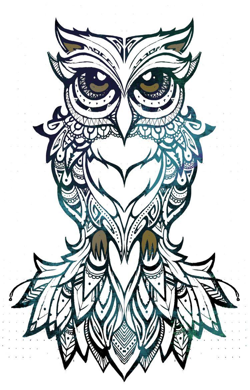 coco art design owl illustration tribal patterns artwork pinterest tribal patterns. Black Bedroom Furniture Sets. Home Design Ideas
