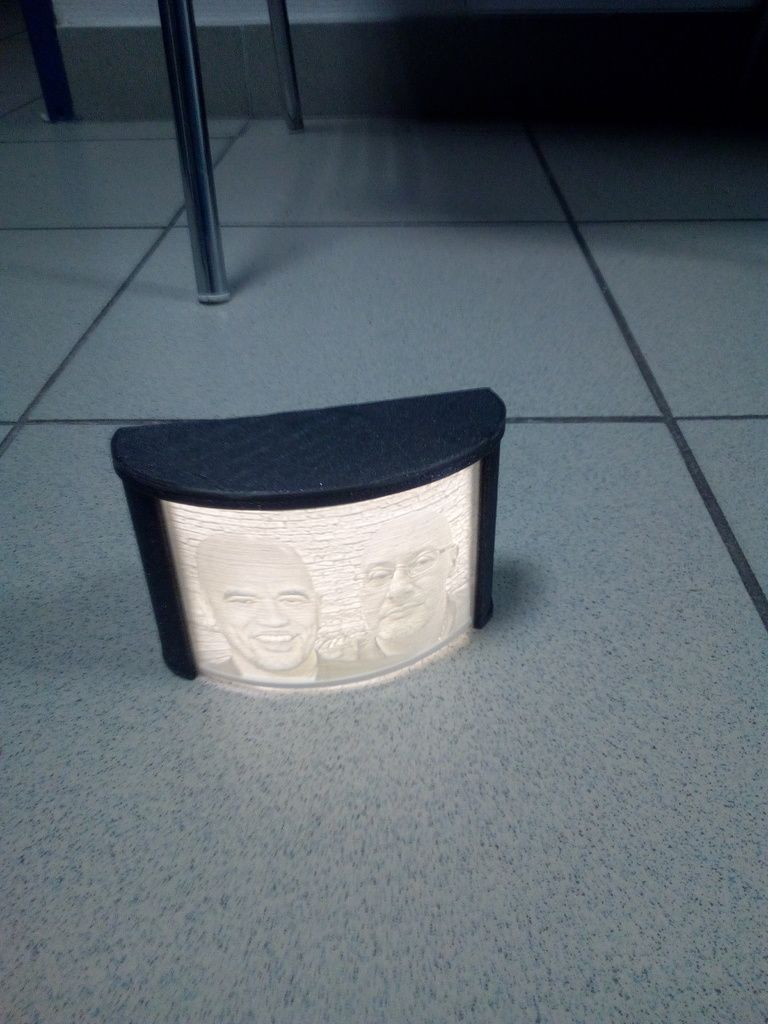 Lithophane Box By Olios Thingiverse 3d Printing Interesting Things Creative