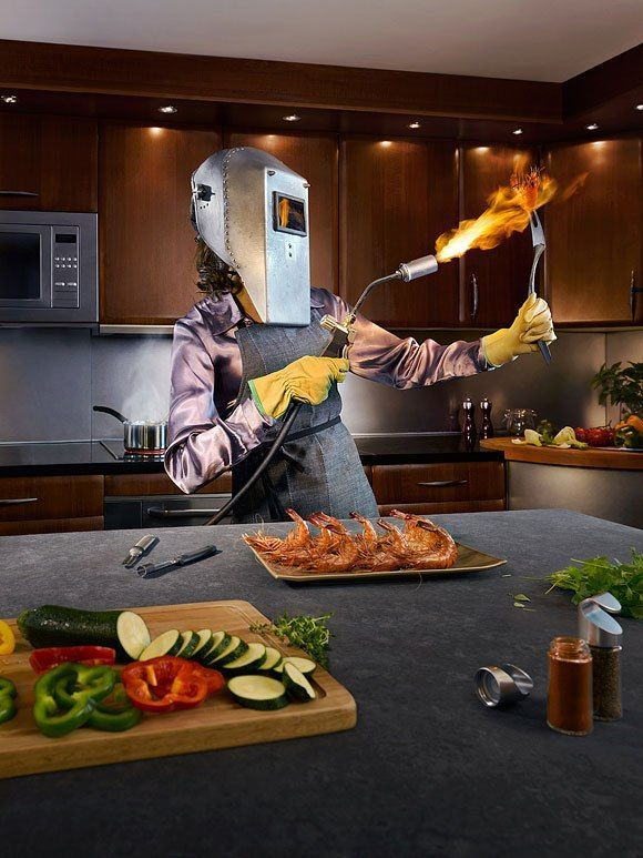 Cómo cocinar unas gambas