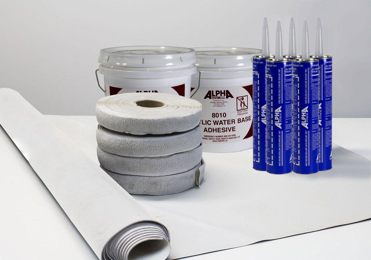 Superflex RV Roof Kit Epdm membrane, Best gas mileage