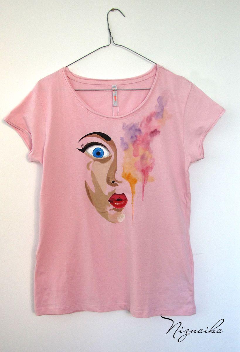 55fa367daece handpainted tshirt tricou pictat