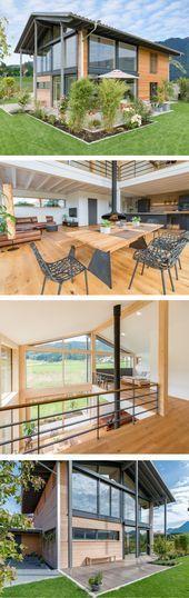 Photo of Architektenhaus #Modern #Mit #Holz #Fassade #Schlafdach #Archite