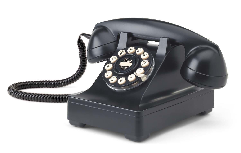 Crosley 302 Classic Black Desk Phone - Crosley 302 Classic Black Desk Phone Vintage Pinterest Desks