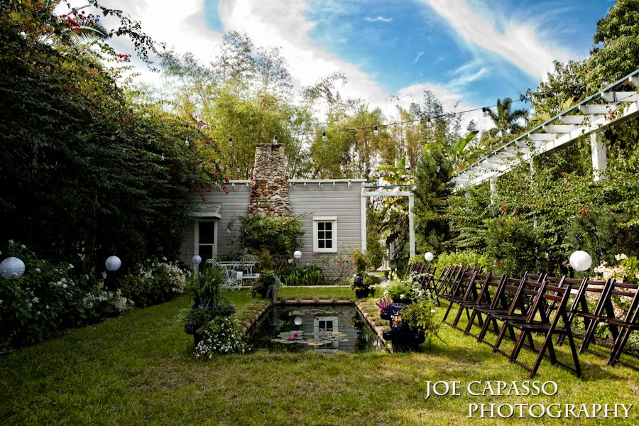 perfect garden for a small wedding | Edison & Ford Weddings ...