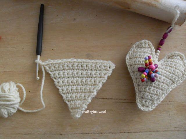 Amigurumi Uncinetto Tutorial Italiano : Uncinetto come fare cuori tutorial in italiano crochet