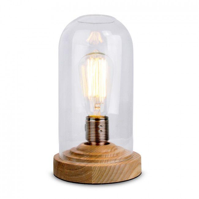 Bedroom Lamps Tesco: Antique Thomas Edison 'Steam Punk' Table Lamp With ES/ E27