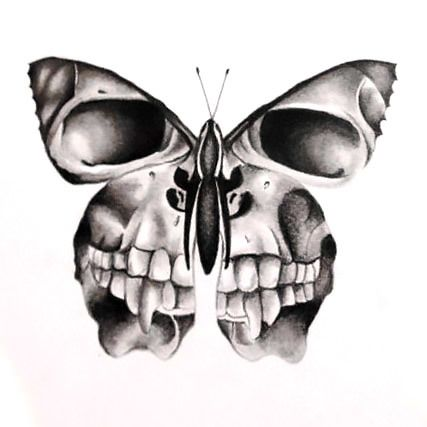 tattoo designs creative skull butterfly skull butterfly tattoo rh pinterest com butterfly skull tattoo tumblr butterfly skull tattoo sleeve