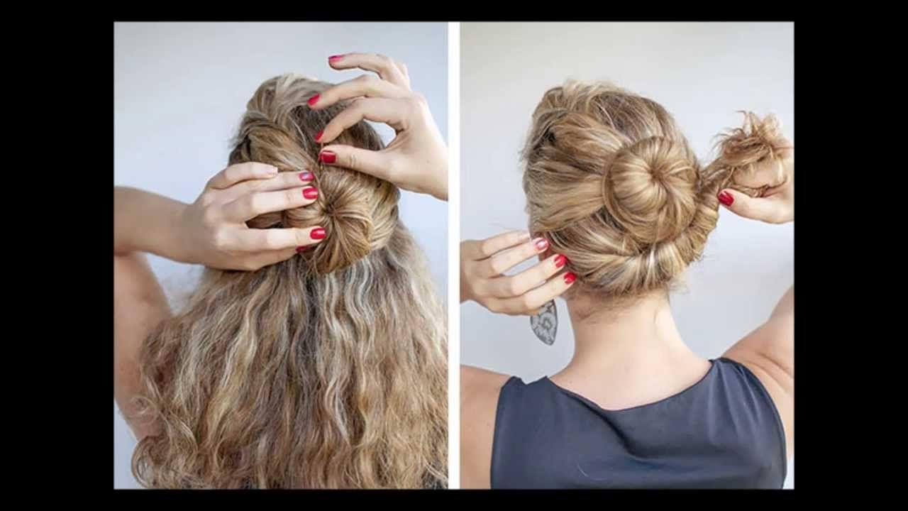 معظمنا يمتلكن شعرا مموج أو كيرلي بسيط إذا كنت تحتارين فى اختيار تسريحة مناسبة لنوعية شعرك فاليوم أحضرت لك 4 تسريحات متنوعة Beauty Hair Styles Hair Wrap