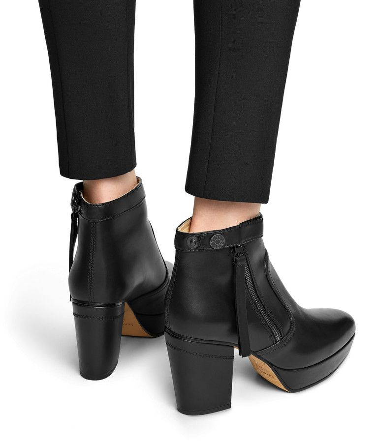 0a226601b27 Track black $680 CAD | Personal Style in 2019 | Platform ankle boots ...