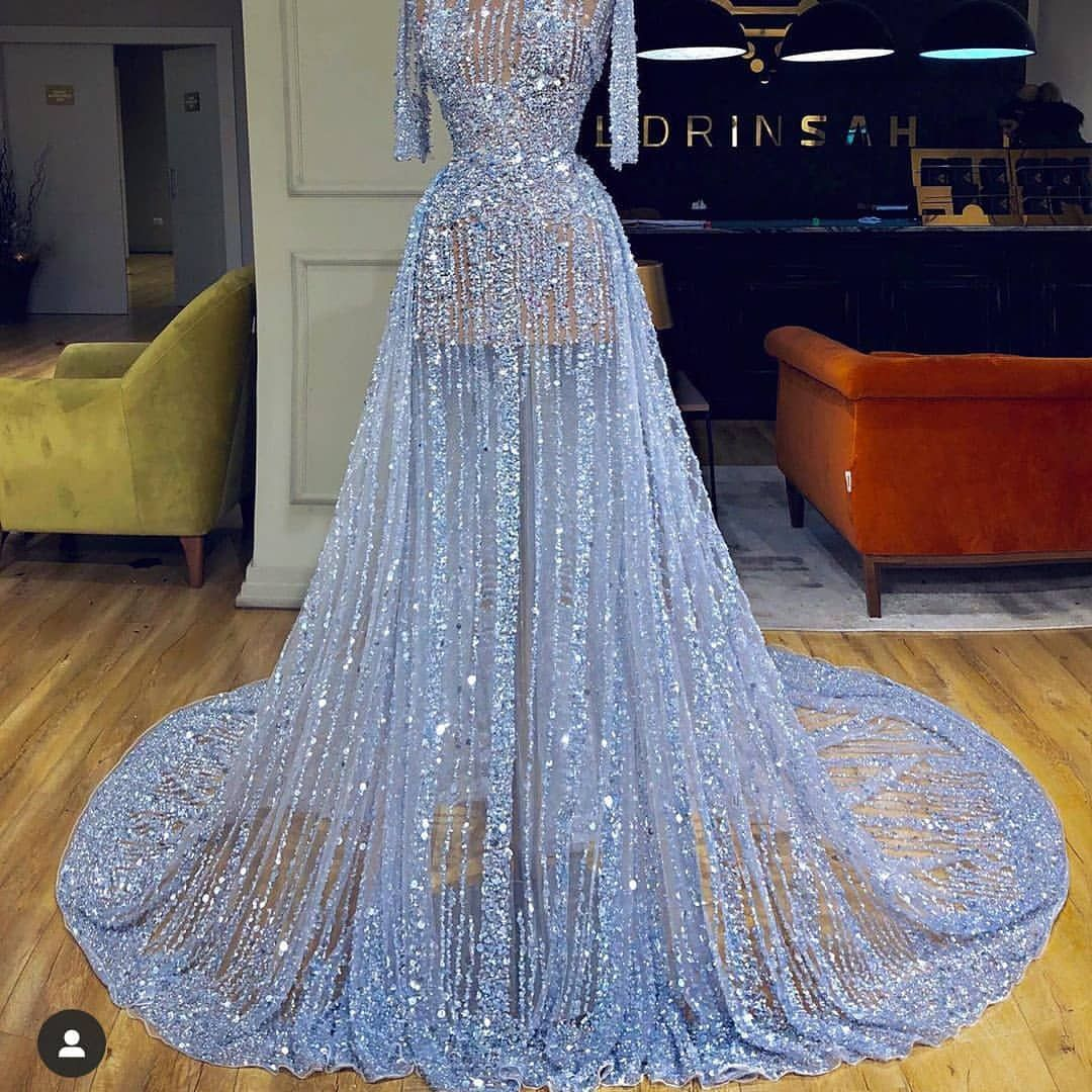 Intricate Sunshine Yellow Haute Couture Gown Fashion Designe