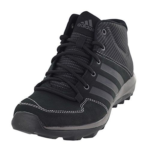 detailed look ad4b6 dd503 Adidas Daroga Plus Mid Leather Shoe - Men s Black   Granite   Night Met 12    Visit the image link more details.