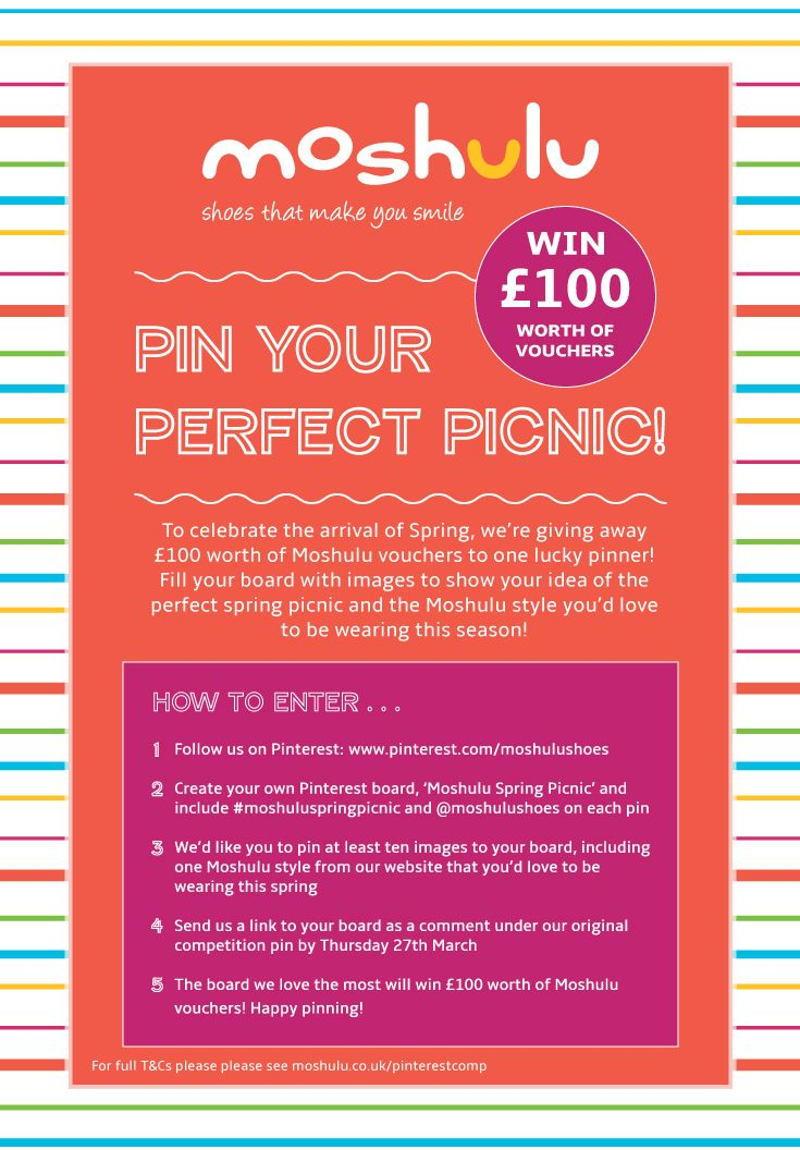 Create Your Own Voucher Template Create Your Own Moshulu Spring Picnic Board To Be In With A Chance .