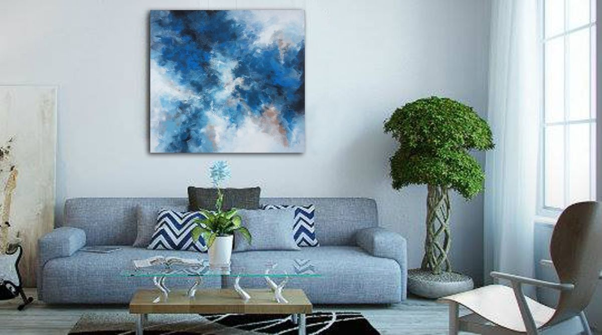 This original acrylic paintingus size is x cm used acrylic