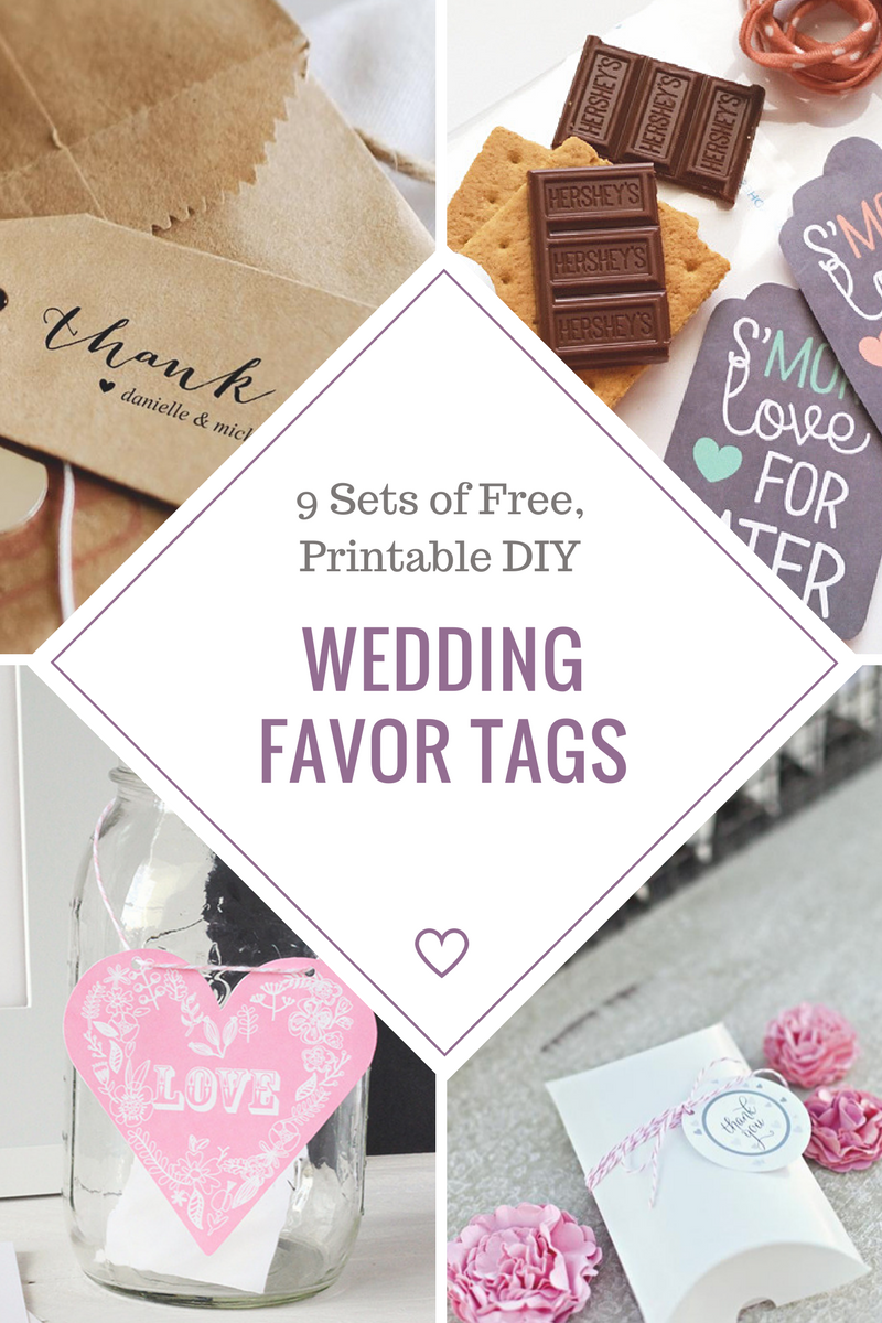 Customize your own wedding favor tags for free. | Let\'s Have a ...