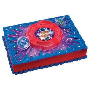 Beyblade Cake Decorating Kit Topper Perfect Atop A Cookie Cakepins