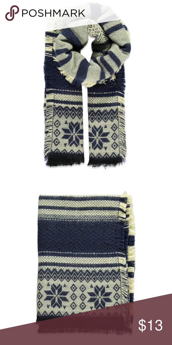 Striped Fair Isle Scarf NWT | Forever 21, Accessories and Final sale