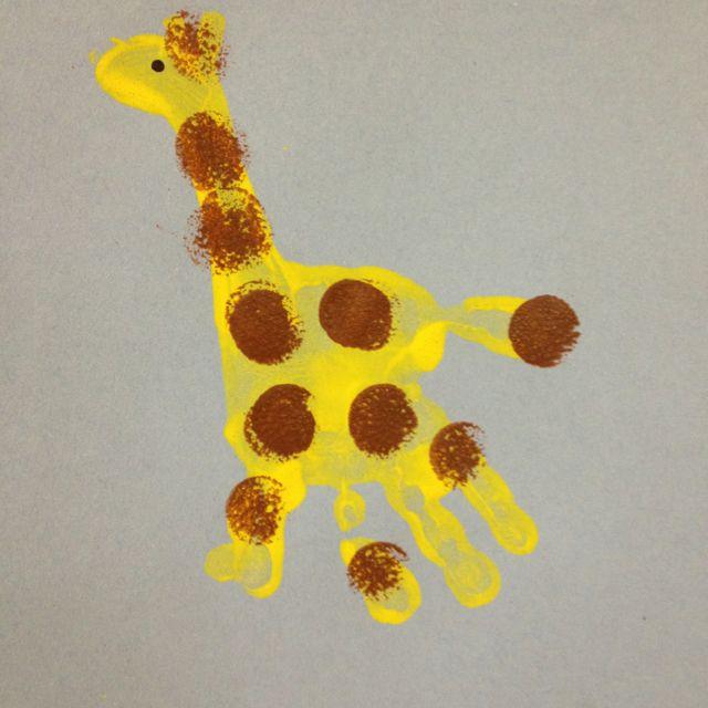2 Year Old Craft Daycare Crafts Giraffe Crafts Jungle Crafts