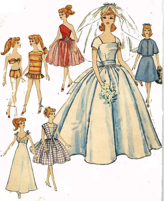 Instant PDF Download Vintage Sewing Pattern A Large by ickythecat ...
