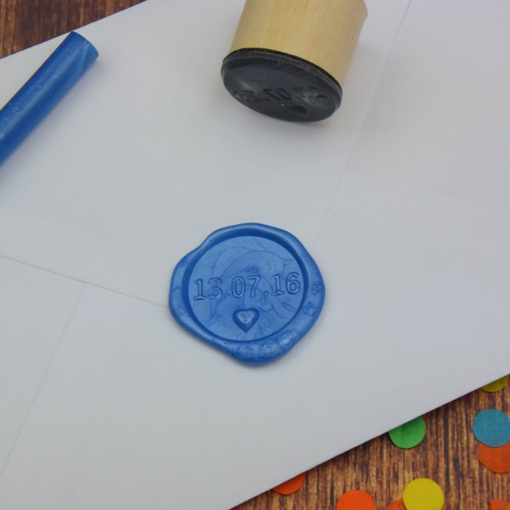 Naturally, you can have personalised seals. This one is perfect for ...