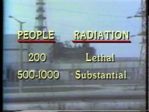 CIA video briefing for Reagan: Chernobyl Disaster-- videos like this were then a new way to deliver intelligence to policymaker, released and declassified Nov 2, 2011